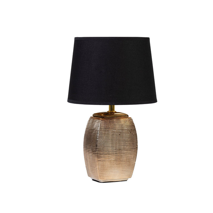 GOLDEN NET I LAMP WITH BLACK SHADE
