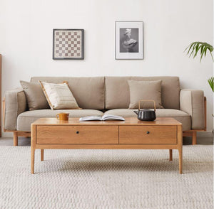 Hampton Honey Oak Coffee Table (Coming Soon!) - Oak Furniture Store & Sofas