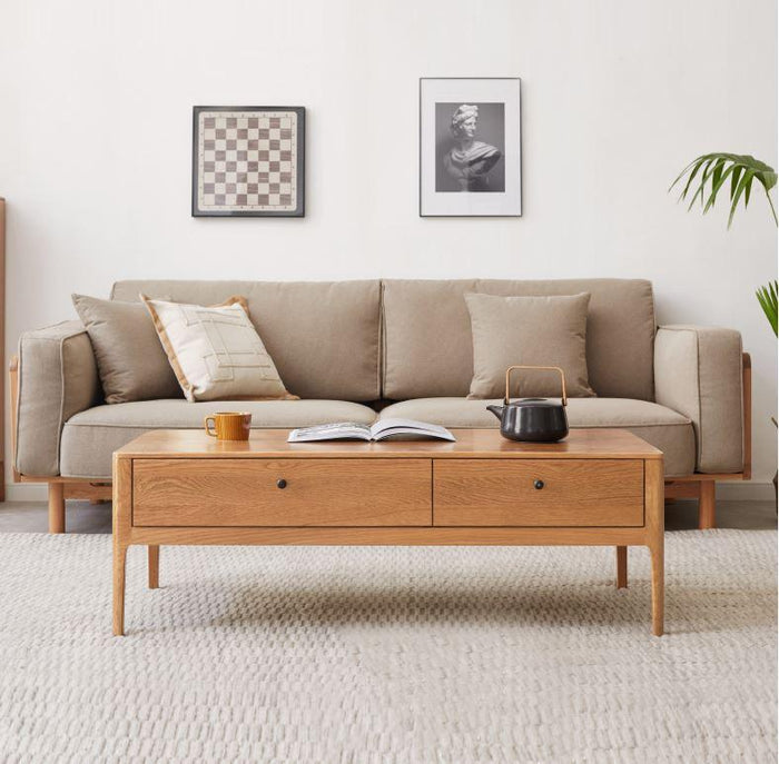 Hampton Honey Oak Coffee Table (Coming Soon!)
