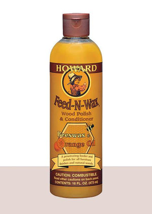 Howard Feed-N-Wax - 480ML - Oak Furniture Store & Sofas