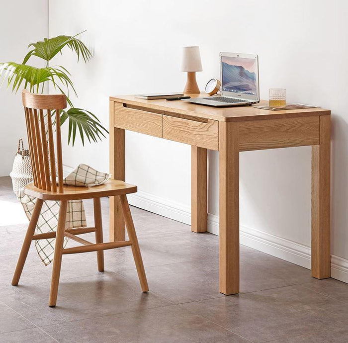 Humbie Solid Oak Computer Desk (New Product Coming Soon!)