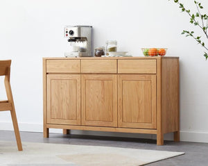 Humbie Solid Oak Large Sideboard (Coming Soon!) - Oak Furniture Store & Sofas