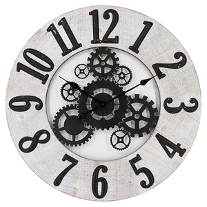INSIDE OUT WALL CLOCK - Oak Furniture Store & Sofas