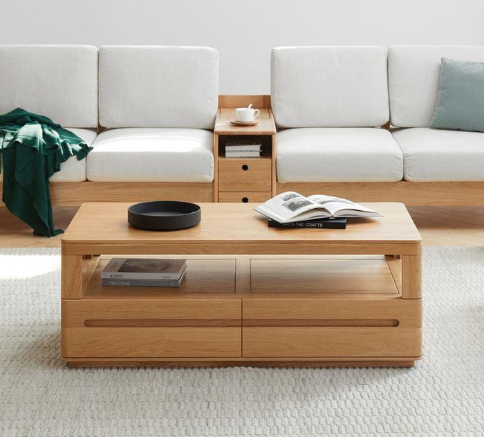 Manchester Natural Solid Oak Coffee Table (New Product Coming Soon!)
