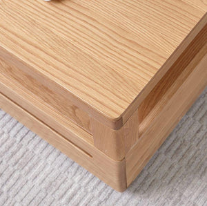 Manchester Natural Solid Oak Coffee Table (New Product Coming Soon!) - Oak Furniture Store & Sofas