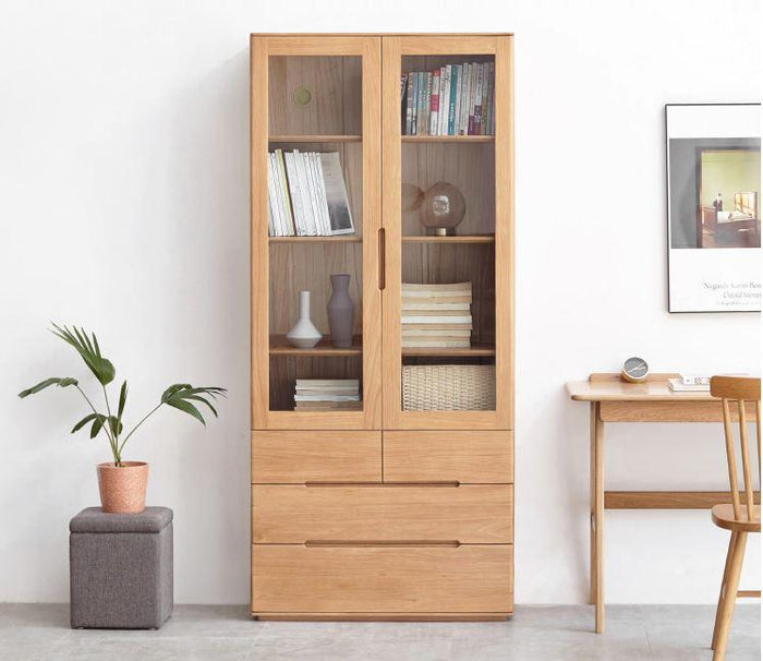 Manchester Natural Solid Oak  Display Cabinet (New Product Coming Soon!)