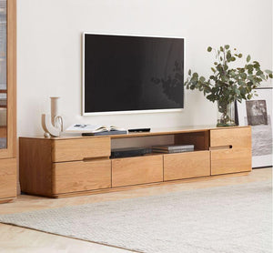 Manchester Natural Solid Oak Entertainment Unit (New Product Coming Soon!) - Oak Furniture Store & Sofas