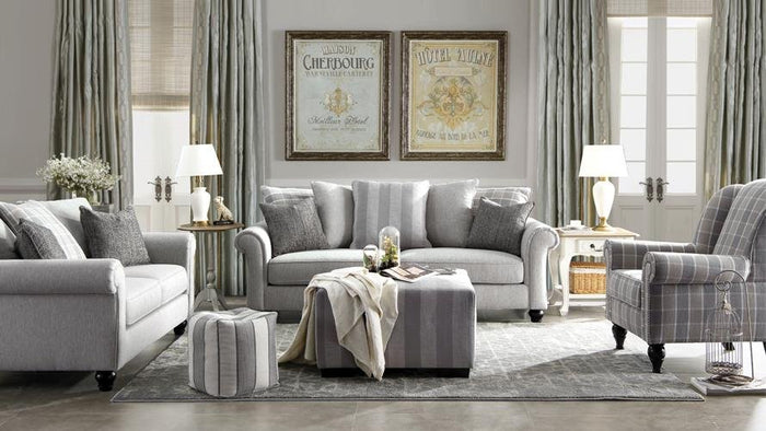 New York 3+2 Seaters Sofa Set