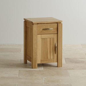 Osaka 1 Door Bedside Table - Oak Furniture Store & Sofas