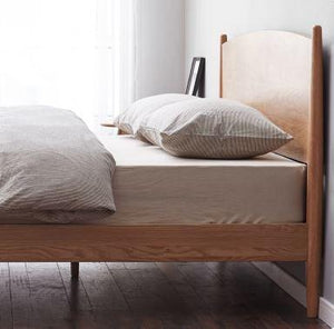 Oslo Natural Solid Oak Queen Size Bed (New Product Coming Soon!) - Oak Furniture Store & Sofas