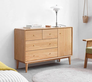 Oslo Natural Solid Oak Sideboard - Oak Furniture Store & Sofas