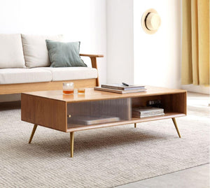 Parquet Oak Coffee Table - Oak Furniture Store & Sofas