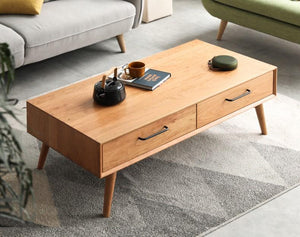 Prunus Solid Cherry Large Coffee Table - Oak Furniture Store & Sofas