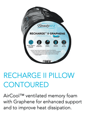 Recharge II Pillow Contoured - Oak Furniture Store & Sofas