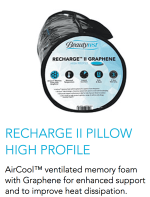 Recharge II Pillow High Profile - Oak Furniture Store & Sofas