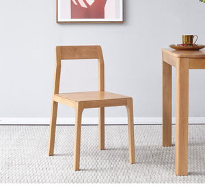 Seattle Natural Solid Oak Dining Chair - Oak Furniture Store & Sofas