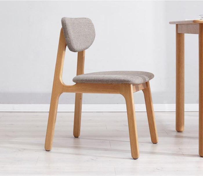 Seattle Natural Solid Oak Dining Chair