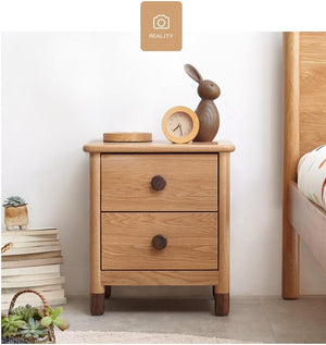 Urban Kidz Oak Bedside Table - Oak Furniture Store & Sofas