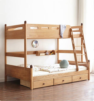Urban Kidz Oak Bunk Bed - Oak Furniture Store & Sofas
