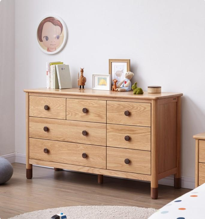 Urban Kidz Oak Chest of Drawers