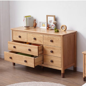 Urban Kidz Oak Chest of Drawers - Oak Furniture Store & Sofas