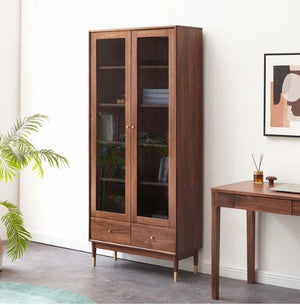 Walnut Display Unit - Oak Furniture Store & Sofas