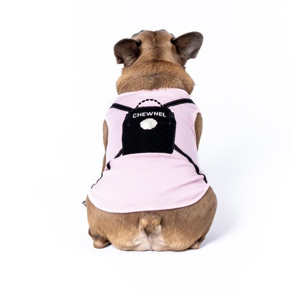Designer Tank Embroidered Chewnel Backpack - DogCrush Boutique