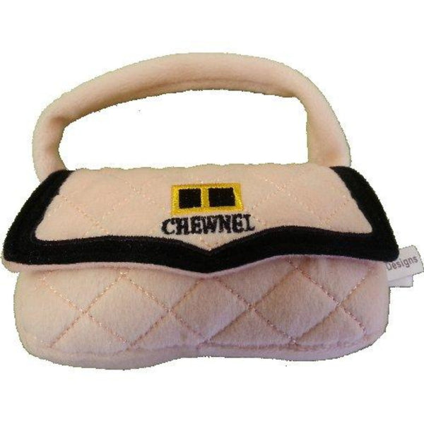 Pink Chewnel Purse Plush Toy - DogCrush Boutique