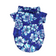 Comfortable Stylish Collared Hawaiian Blue and White Shirt for Dogs