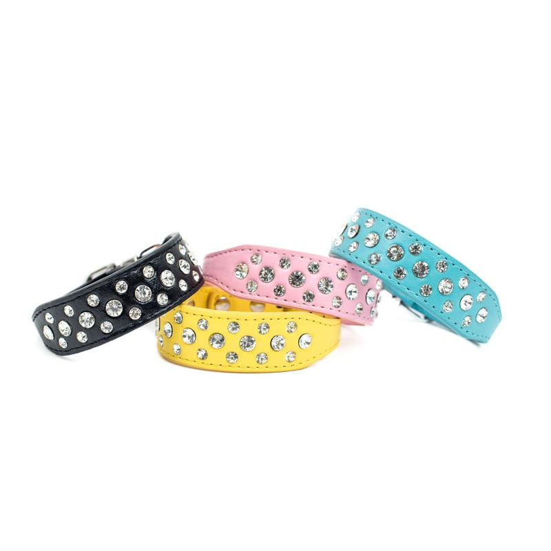 Bling Collar Wide Band - DogCrush Boutique