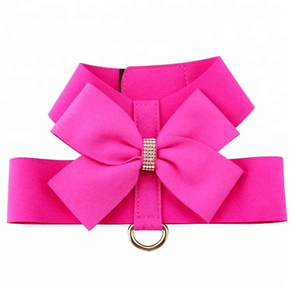 Roxy Harness Fuschia Velcro Harness - DogCrush Boutique
