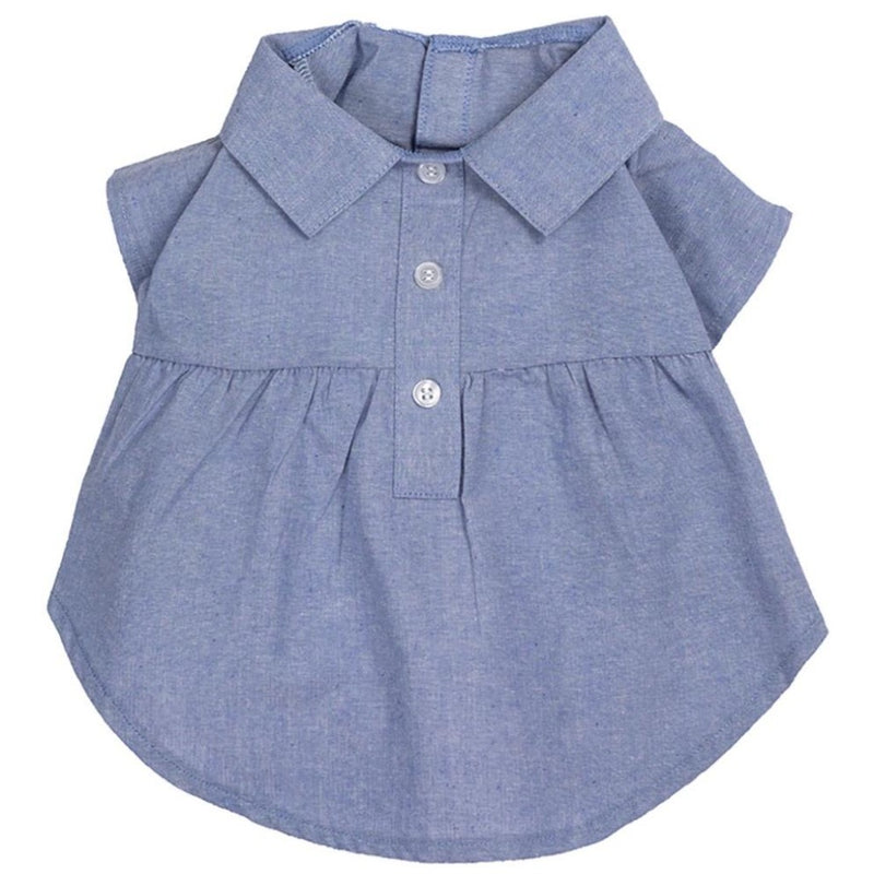 BB Collection Lil Blue Dress - DogCrush Boutique
