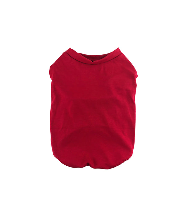Red Rio Cotton Tank - DogCrush Boutique