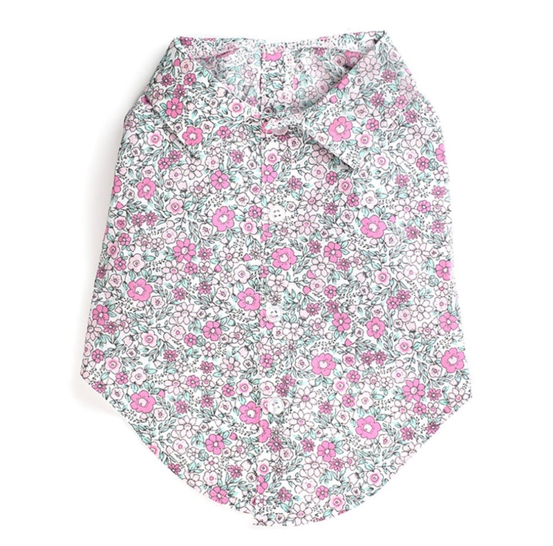 Poppi Collection Floral Shirt - DogCrush Boutique