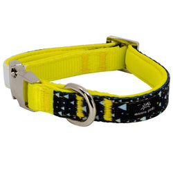 Matching 2-Piece Asteroid Blues Collar & Leash Set - DogCrush Boutique