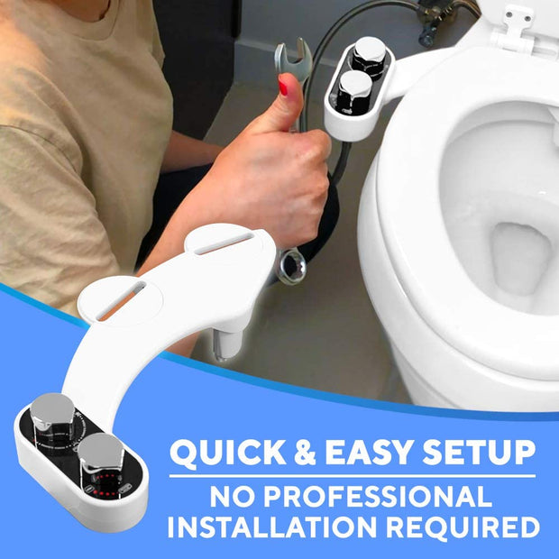 Buttler Bidet Toilet Seat Attachment