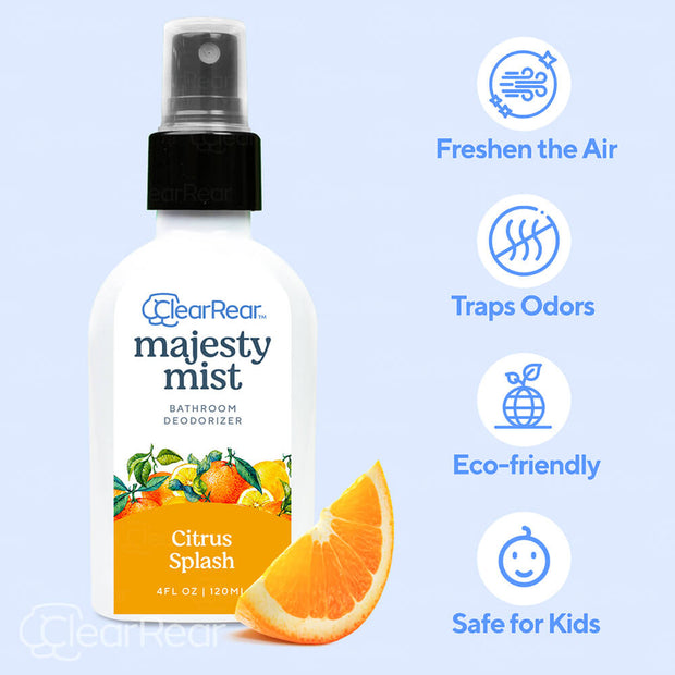 Majesty Mist Sprays Refreshing Bathroom Lavender & Jasmine Or Citrus Deodorant