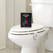 Knight Light UV LED Motion Activated Toilet Night Light