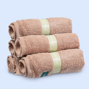 Royal Treatment Eco-Friendly Hypoallergenic Unbleached Hand Towel Washcloth