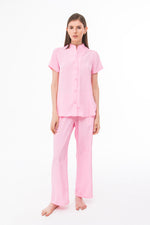 Blouse and Pant Set in Pink