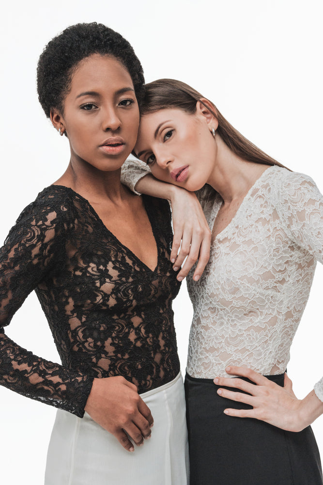 Load image into Gallery viewer, Soutache Lace Bodysuit
