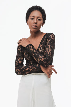 Soutache Lace Bodysuit