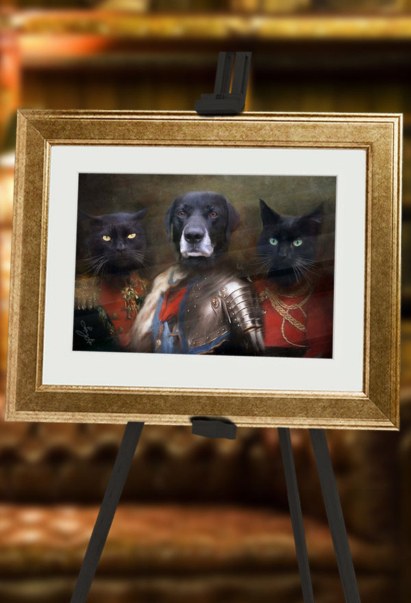 Royal Guard Pet Portrait at Turner & Walker