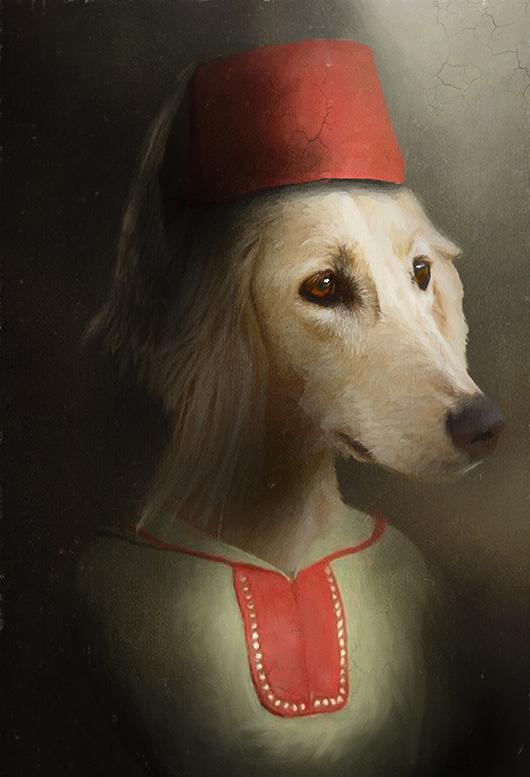 Casablanca Pet Portrait at Turner & Walker