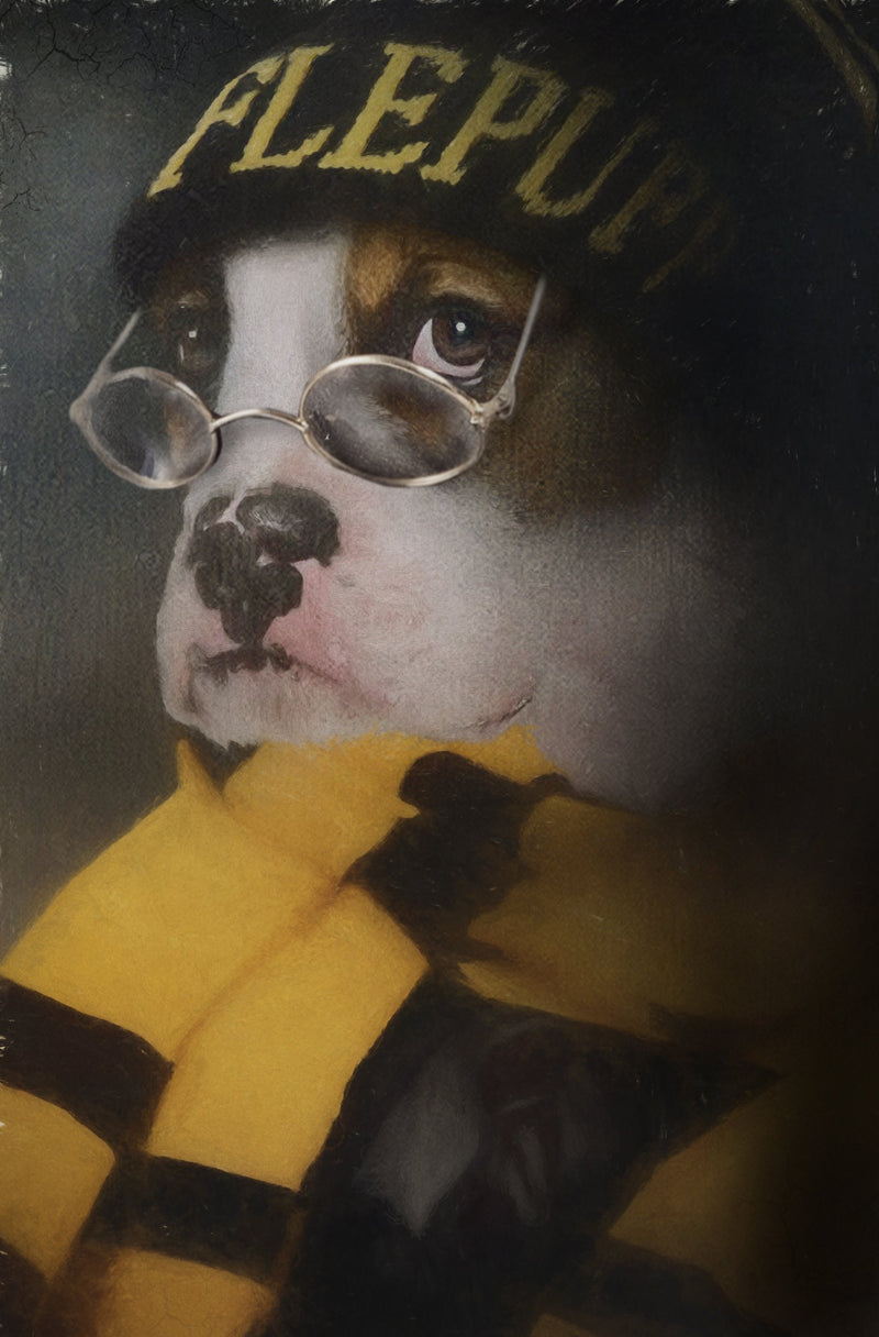 Huff Puff Pet Portrait at Turner & Walker