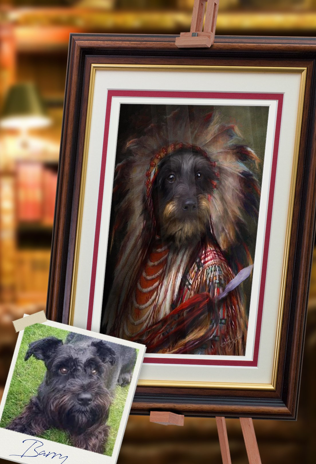 Rafiki Pet Portrait at Turner & Walker