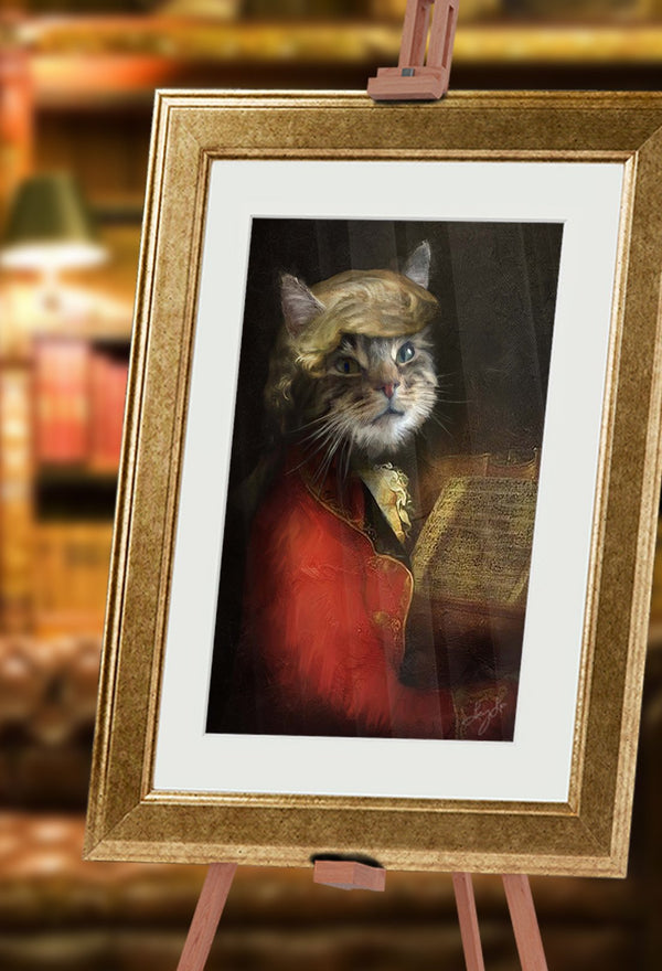Vivaldi Pet Portrait at Turner & Walker