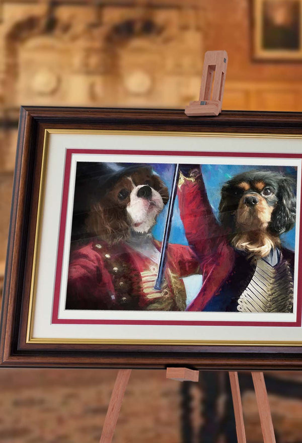 The Greatest Showmen Pet Portrait at Turner & Walker