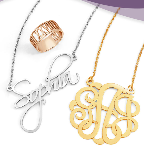 Monogram & Family Jewelry
