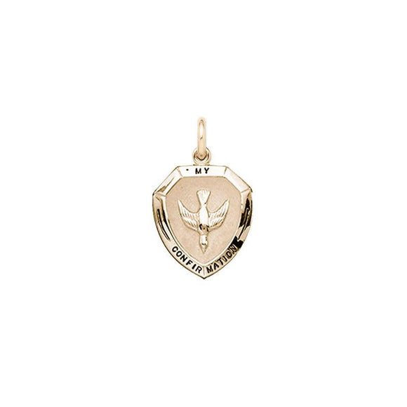 14K Gold-Filled Holy Spirit Pendant